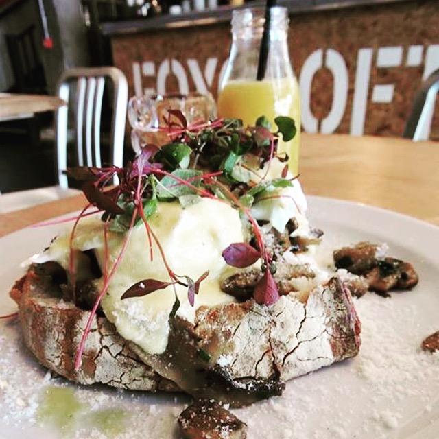 Breakfast at Foxcroft & Ginger, Whitechapel