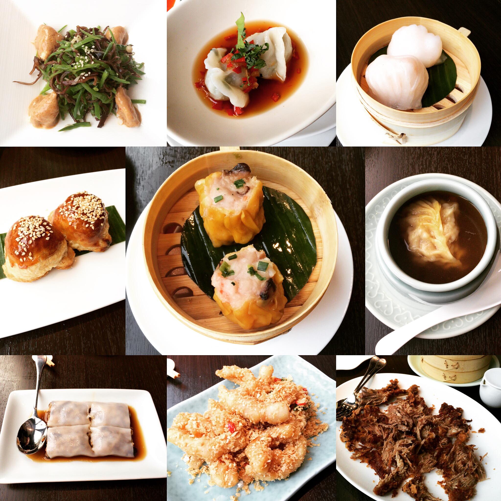 yauatcha lunch menu