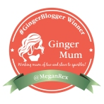 @MeganRex Ginger Blogger Badge