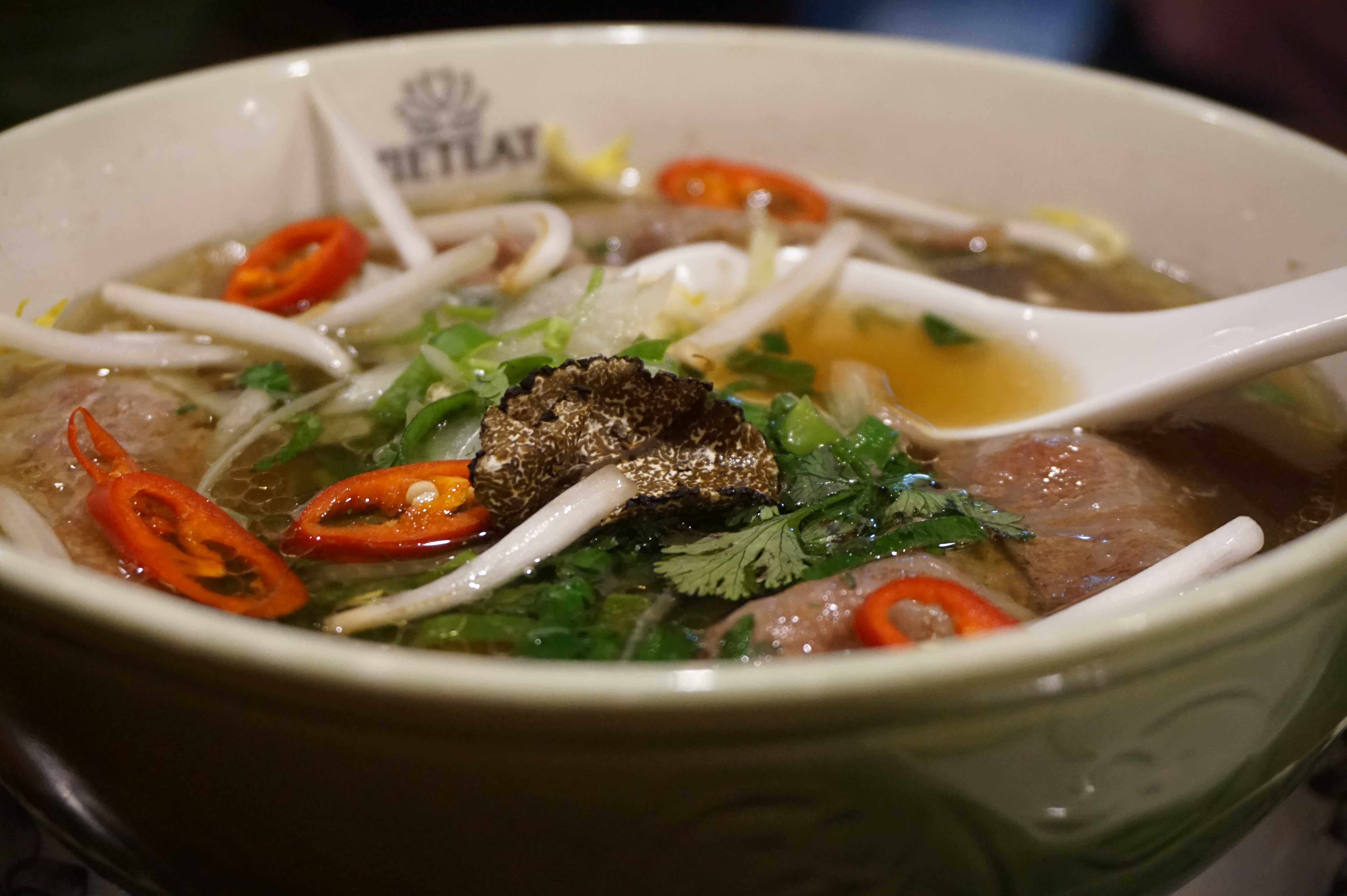 The World's Most Expensive Pho at Pho & Bun
